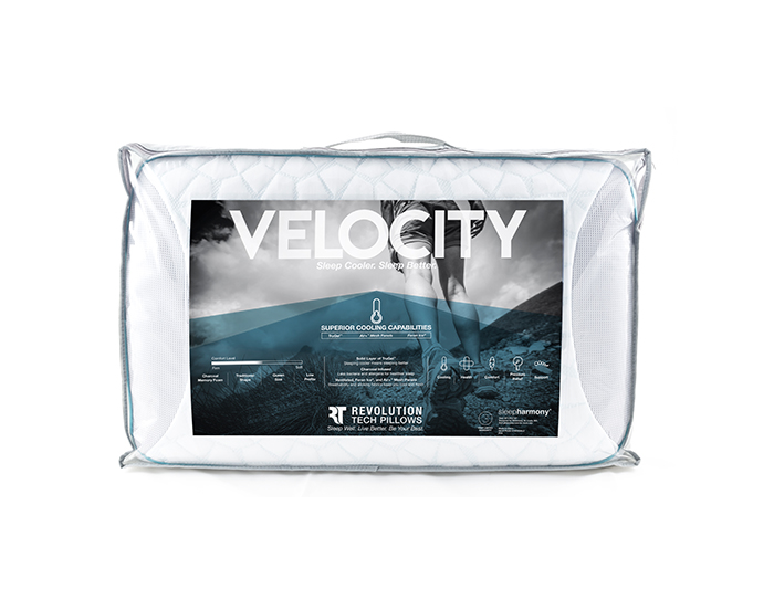 Traditional Memory Foam Trugel Pillow : VELOCITY SOFT AND COOL ALL NIGHT - REST RIGHT MATTRESS