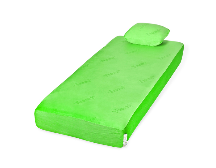 Jubilee Youth Mattress Green With Pillow Rest Right Mattress