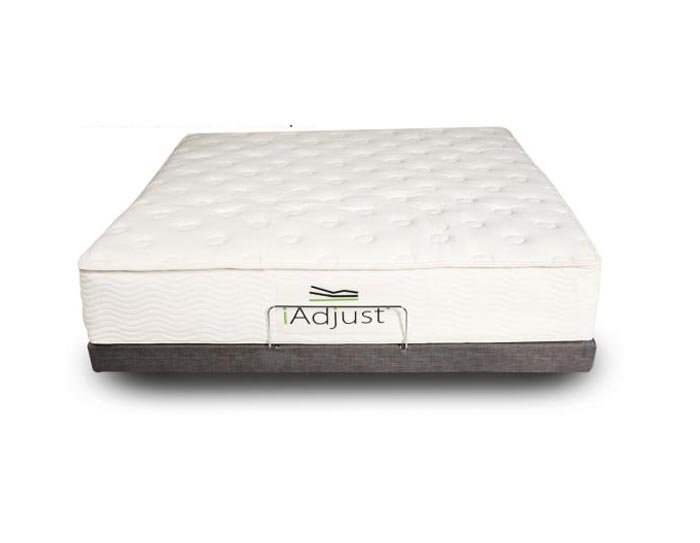 "All Natural Latex Mattress 10"" iAdjust for that Extra Comfort"