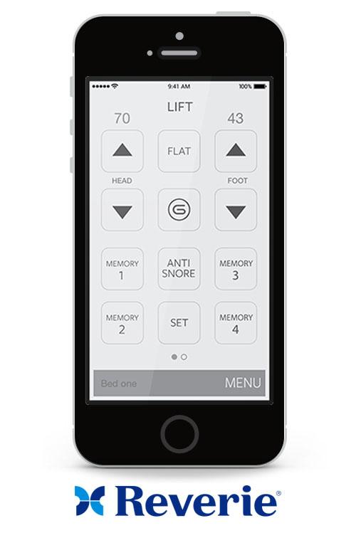 Reverie remote app