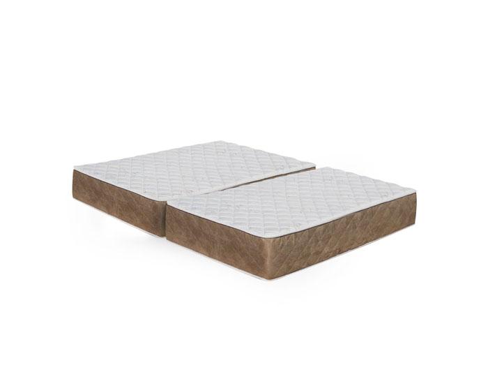 split queen mattress bamboo firm