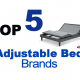 Split king adjustable bed brands