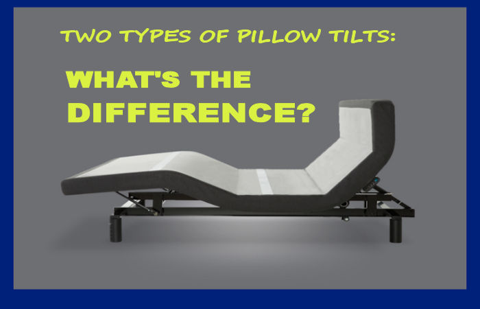 pillow tilt adjustable beds