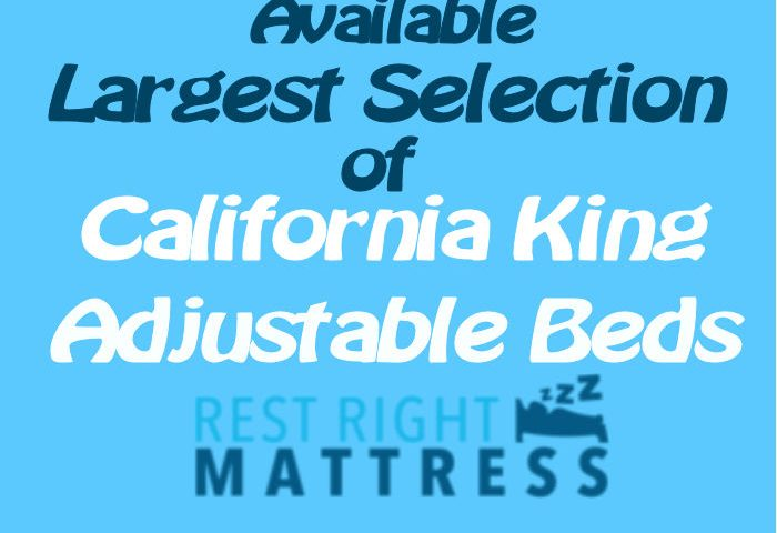 Split California king adjustable beds cover