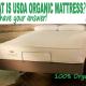 what is USDA Organic mattress