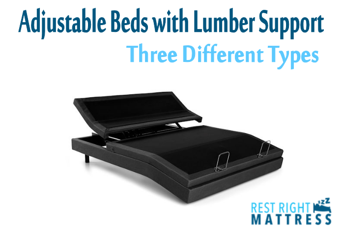 adjustable beds with lumber support