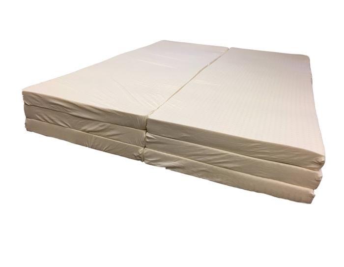 customizable latex mattress layers