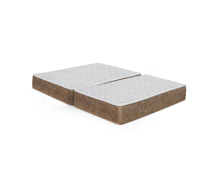 split queen mattress bamboo firm