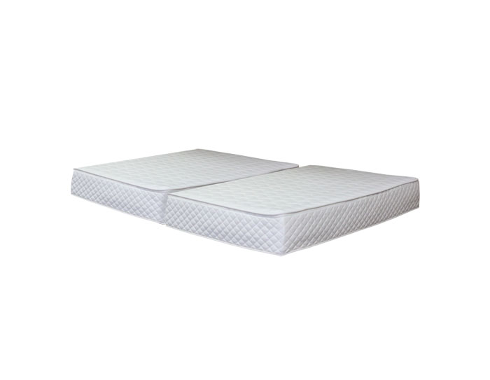 split queen mattress latex interchange