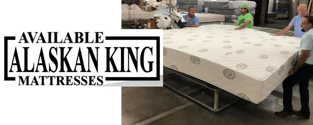 Alaskan King Mattress Available Here