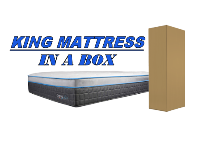 king mattress in a box